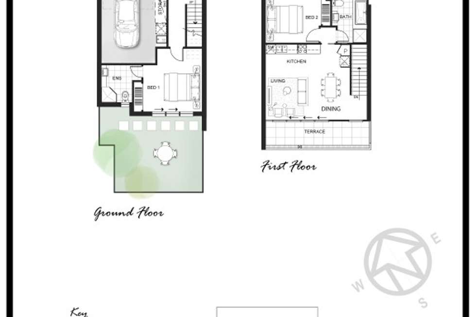 Floorplan of Homely townhouse listing, 22/85 Chapman  Avenue, Glenroy VIC 3046