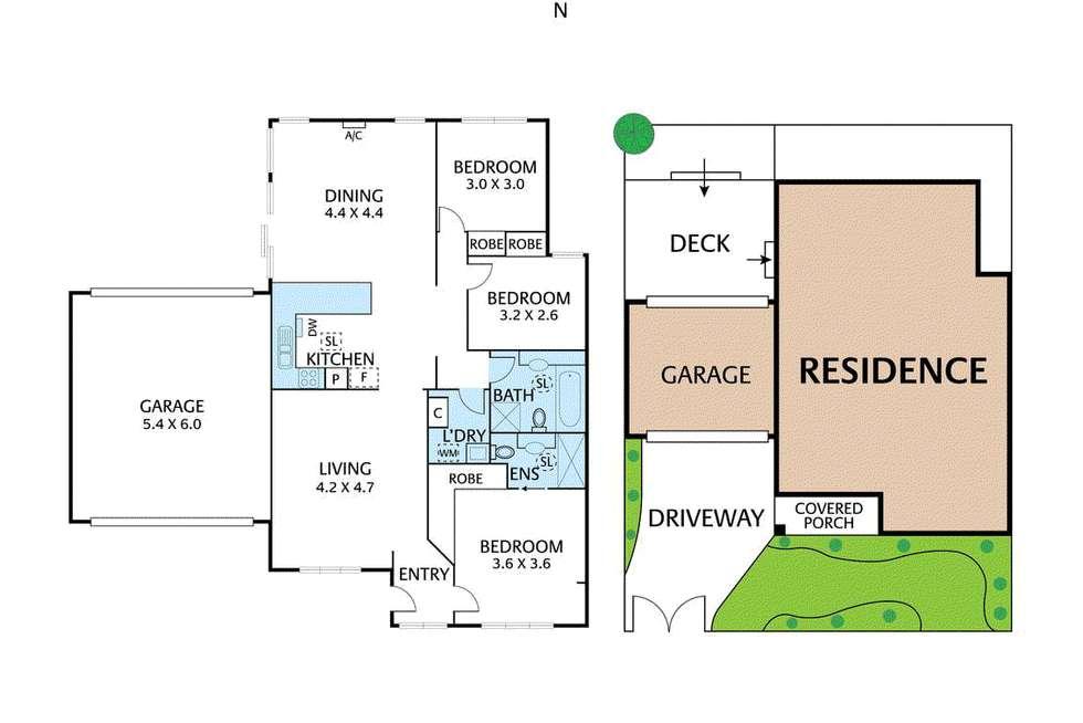 Floorplan of Homely unit listing, 39 Werder Street, Box Hill North VIC 3129