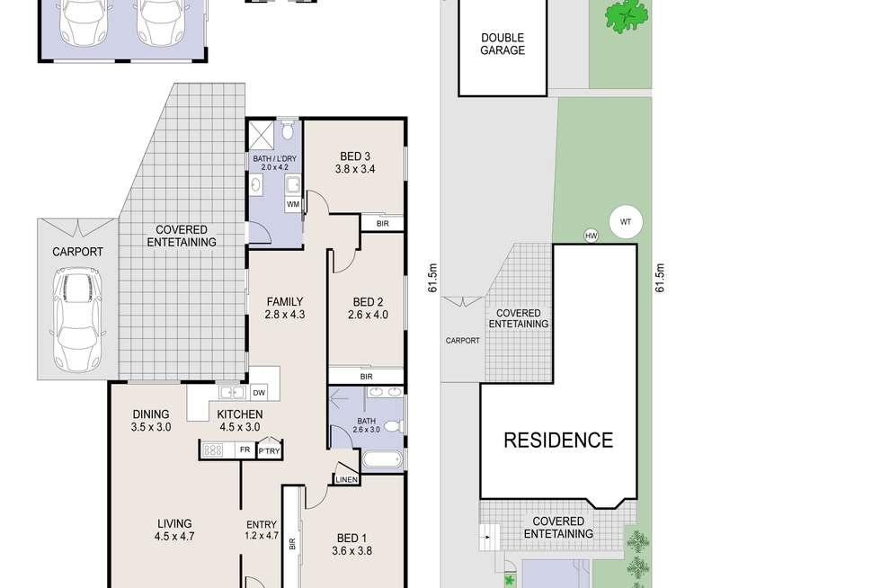 Floorplan of Homely house listing, 17 Gordon Avenue, Summerland Point NSW 2259