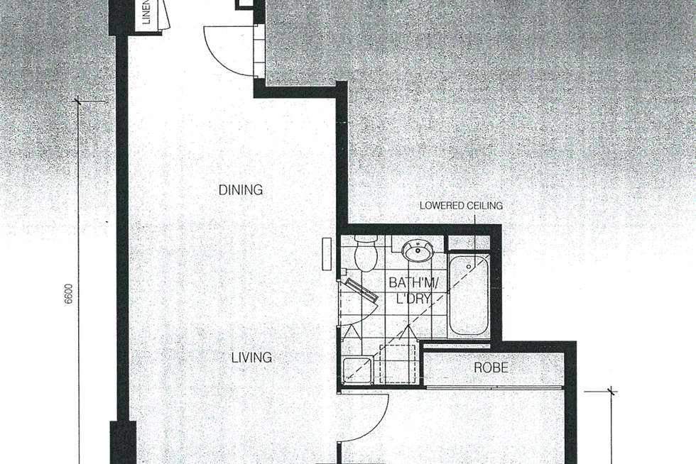 Floorplan of Homely apartment listing, 216/173 City Road, Southbank VIC 3006
