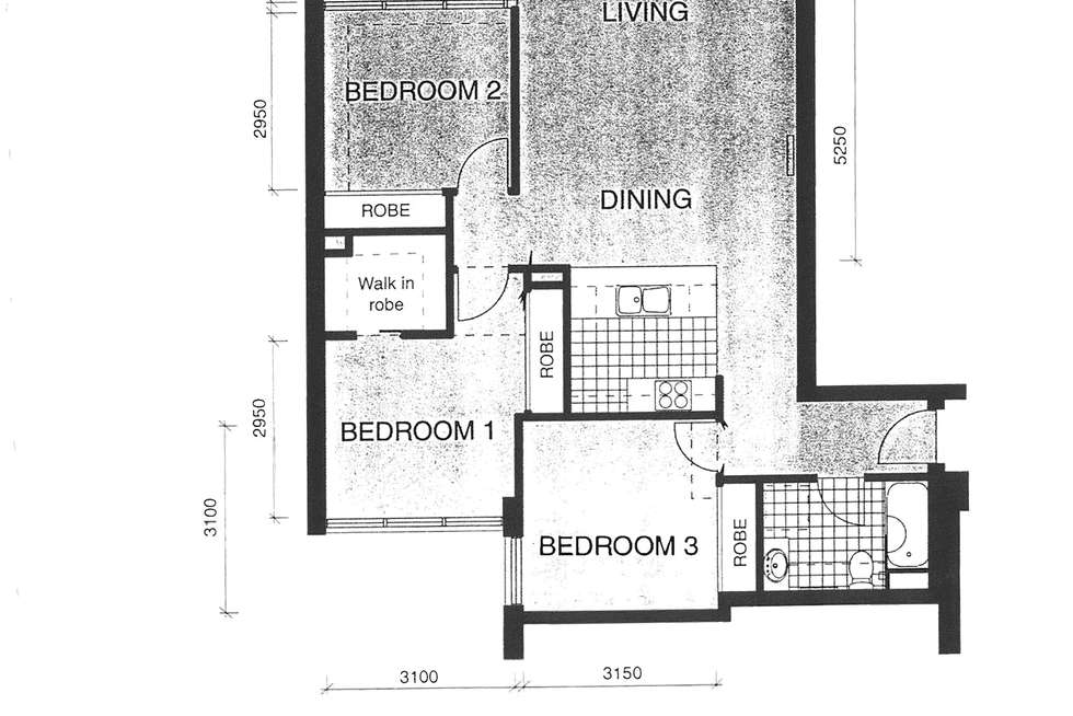 Floorplan of Homely apartment listing, 73/416 St Kilda Road, Melbourne VIC 3004