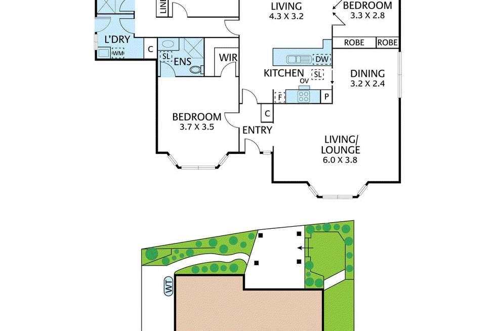 Floorplan of Homely unit listing, 4/35 Glenburnie Road, Mitcham VIC 3132