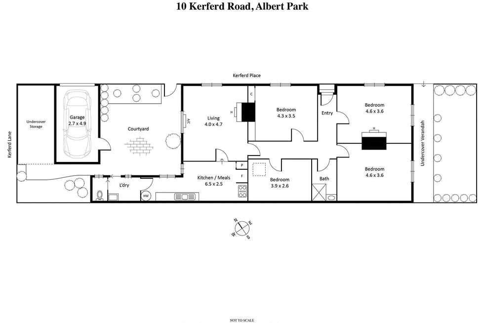 Floorplan of Homely house listing, 10 Kerferd Road, Albert Park VIC 3206