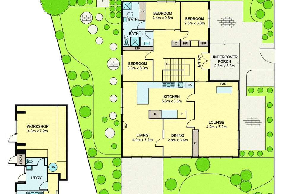 Floorplan of Homely house listing, 28 Boyd Street, Doncaster VIC 3108