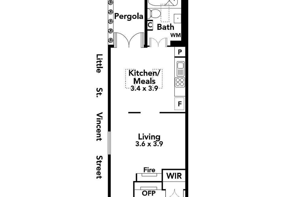 Floorplan of Homely house listing, 9 Durham Street, Albert Park VIC 3206