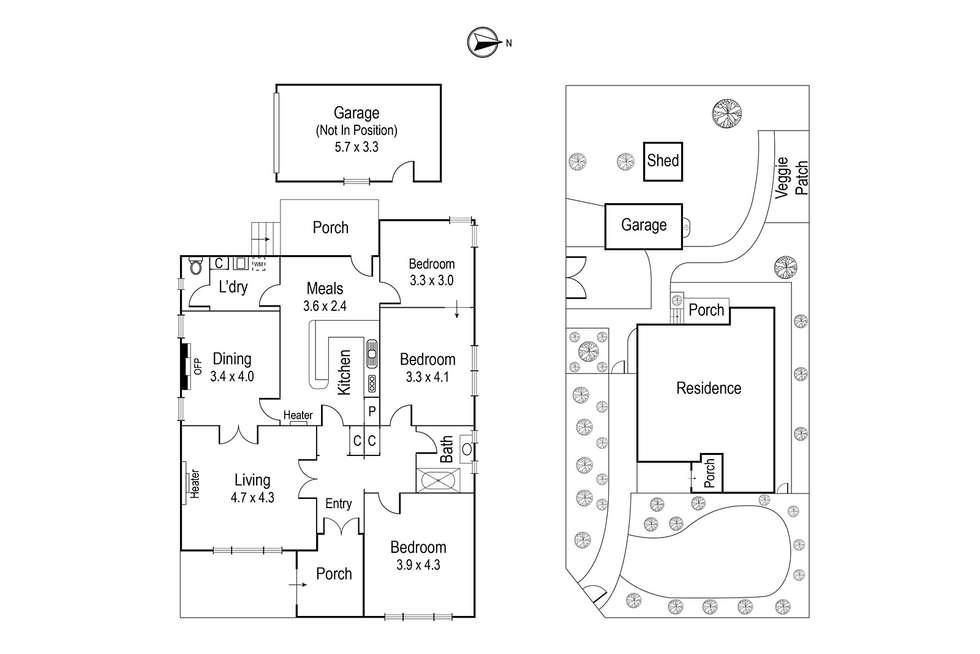 Floorplan of Homely house listing, 208 Waterdale Road, Ivanhoe VIC 3079
