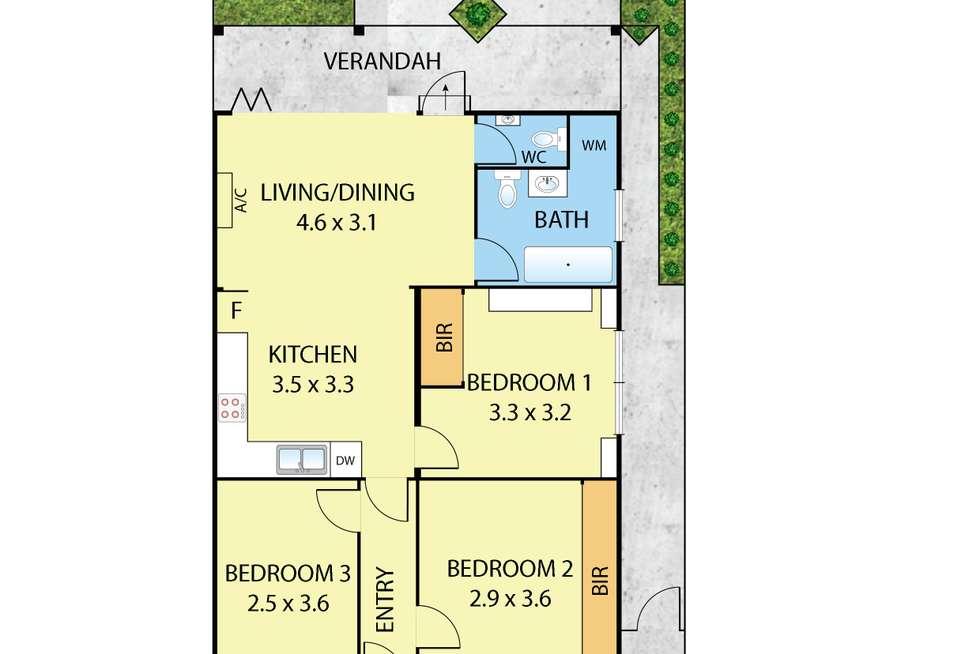 Floorplan of Homely house listing, 13 Sheedy  Street, Richmond VIC 3121