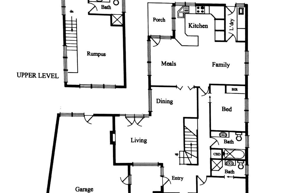 Floorplan of Homely house listing, 1 Alburnum Crescent, Templestowe Lower VIC 3107