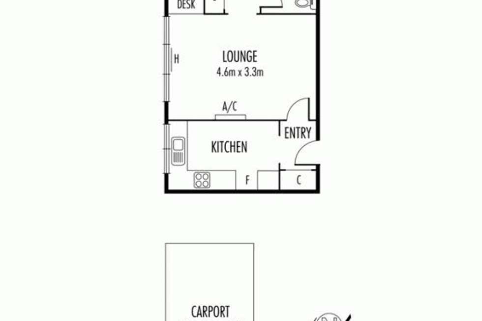 Floorplan of Homely apartment listing, 15/5 Duke Street, Caulfield South VIC 3162