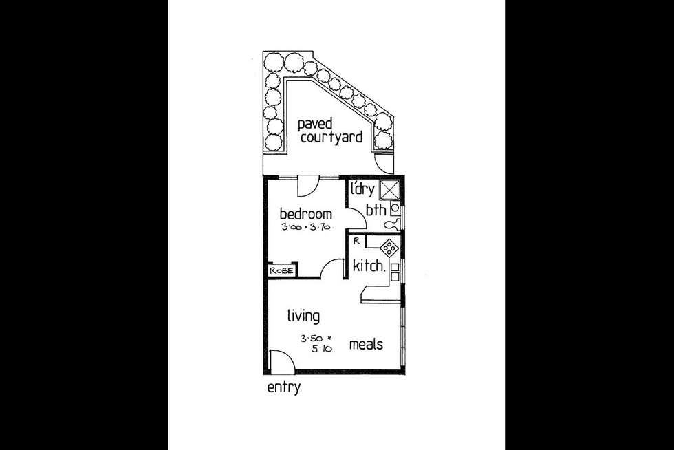 Floorplan of Homely apartment listing, 4/112 Ballantyne Street, Thornbury VIC 3071
