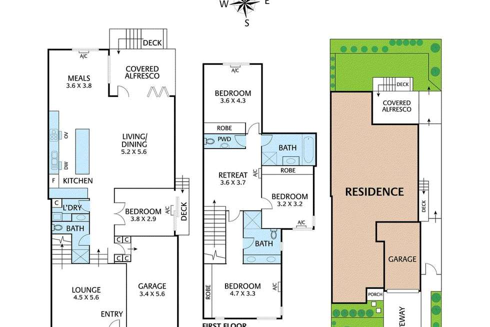 Floorplan of Homely house listing, 135a Woodhouse Grove, Box Hill North VIC 3129