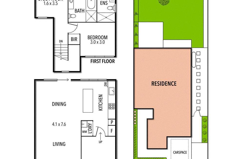 Floorplan of Homely townhouse listing, 7 Greenwich Crescent, Bundoora VIC 3083