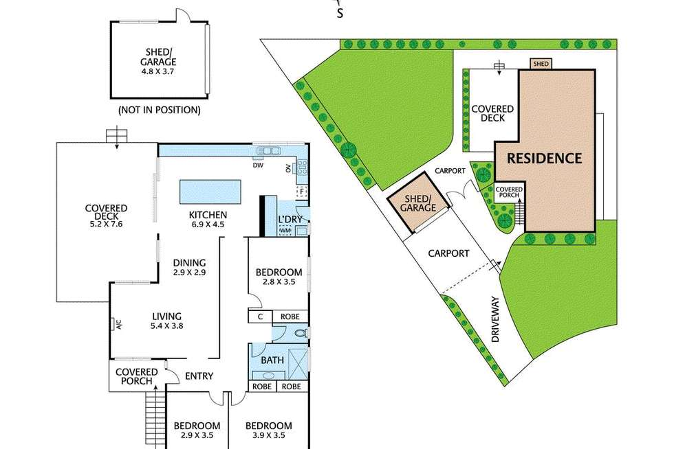 Floorplan of Homely house listing, 8 Claude Court, Blackburn South VIC 3130