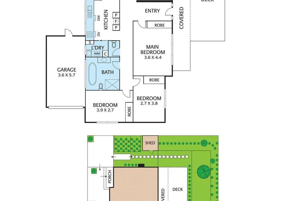 Floorplan of Homely house listing, 188 Blackburn Road, Blackburn South VIC 3130
