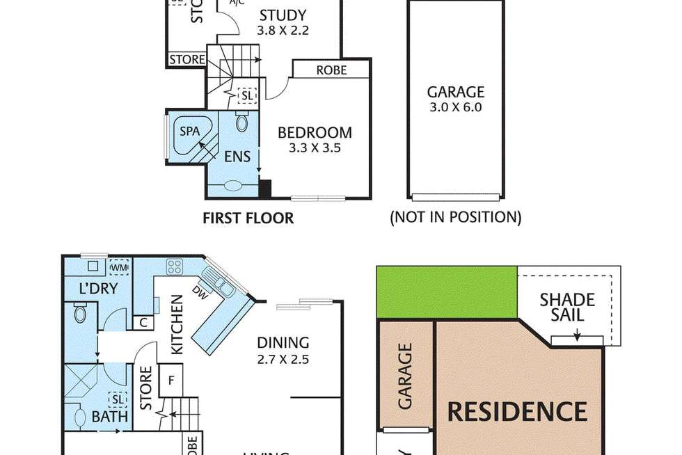 Floorplan of Homely house listing, 2A Frank Street, Vermont VIC 3133