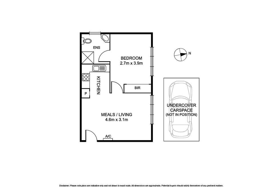 Floorplan of Homely apartment listing, 7/61 Halstead Street, Caulfield North VIC 3161