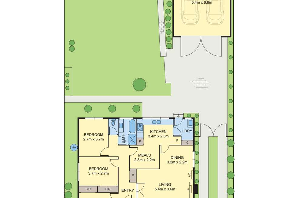 Floorplan of Homely house listing, 40 Barry Road, Burwood East VIC 3151
