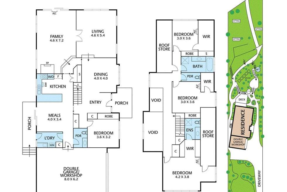 Floorplan of Homely house listing, 234A ResearchWarrandyte Road, North Warrandyte VIC 3113
