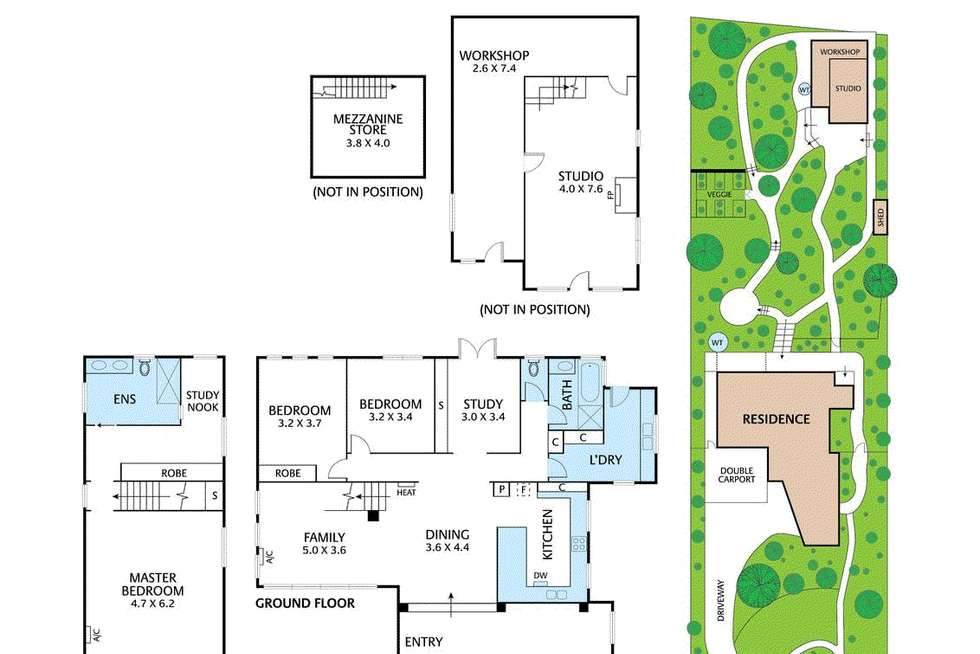 Floorplan of Homely house listing, 70 View Hill Crescent, Eltham VIC 3095