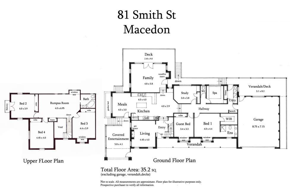 Floorplan of Homely house listing, 81 Smith Street, Macedon VIC 3440