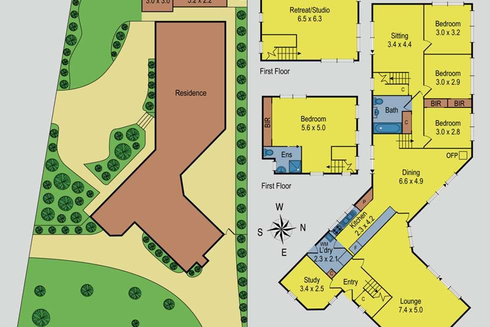 Floorplan of Homely house listing, 2 Centenary Avenue, Macedon VIC 3440