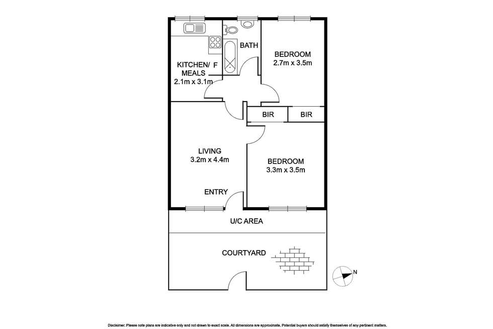 Floorplan of Homely apartment listing, 4/9 Park Avenue, Glen Huntly VIC 3163