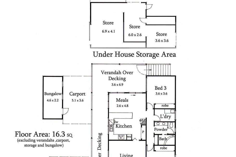Floorplan of Homely house listing, 71 Margaret Street, Macedon VIC 3440