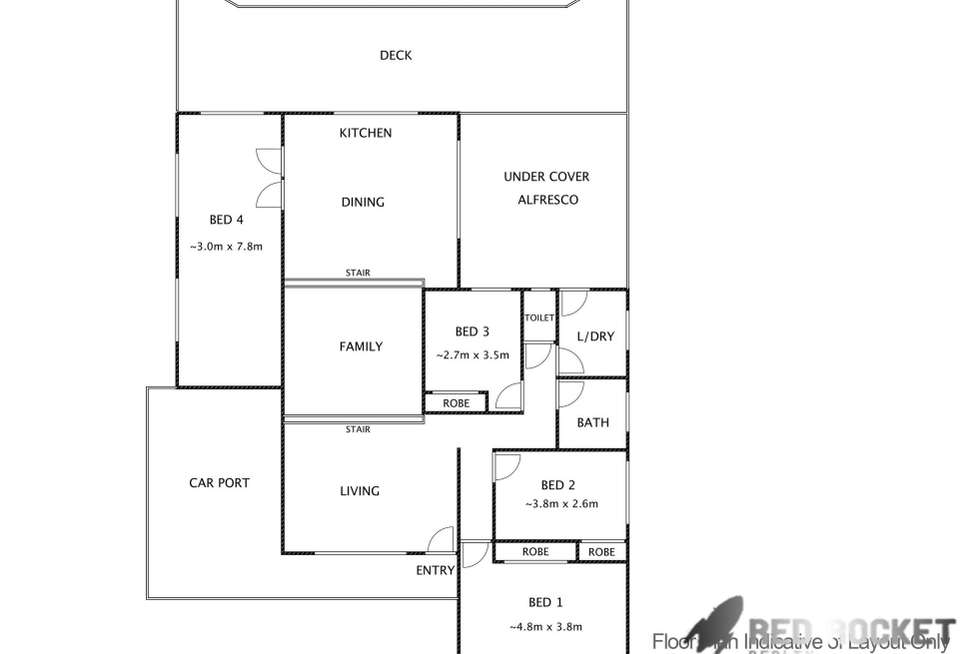 Floorplan of Homely house listing, 45 Copper Drive, Bethania QLD 4205
