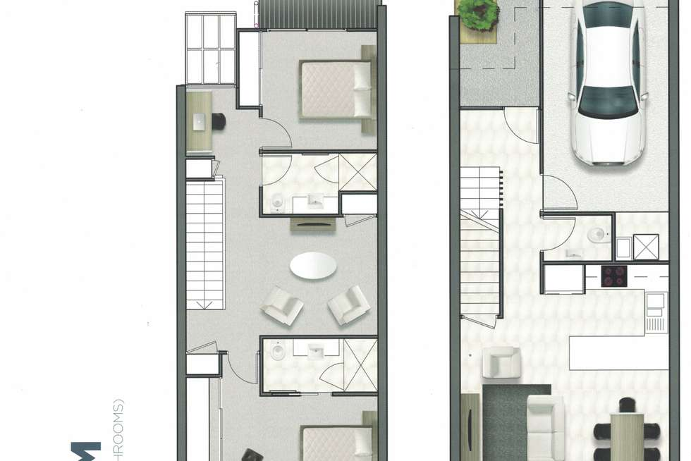 Floorplan of Homely townhouse listing, 32/2 Allora Drive, Maroochydore QLD 4558