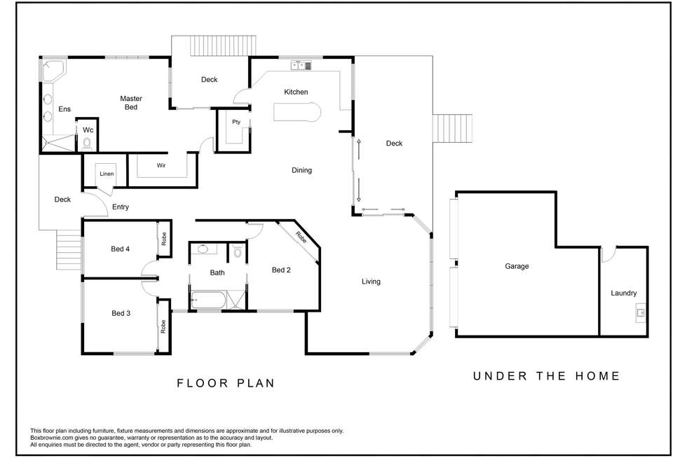 Floorplan of Homely house listing, 22 Harris Drive, Palmwoods QLD 4555
