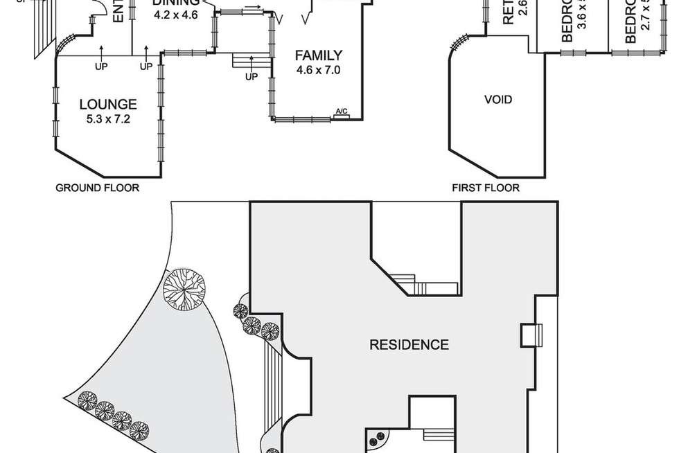Floorplan of Homely house listing, 13 Cortina Place, Avondale Heights VIC 3034