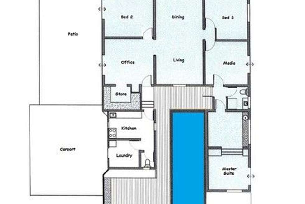 Floorplan of Homely house listing, 2062 Tully Mission Beach Road, Wongaling Beach QLD 4852