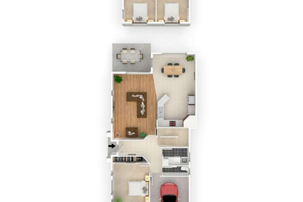 Floorplan of Homely house listing, 22 Galing Place, Wagga Wagga NSW 2650