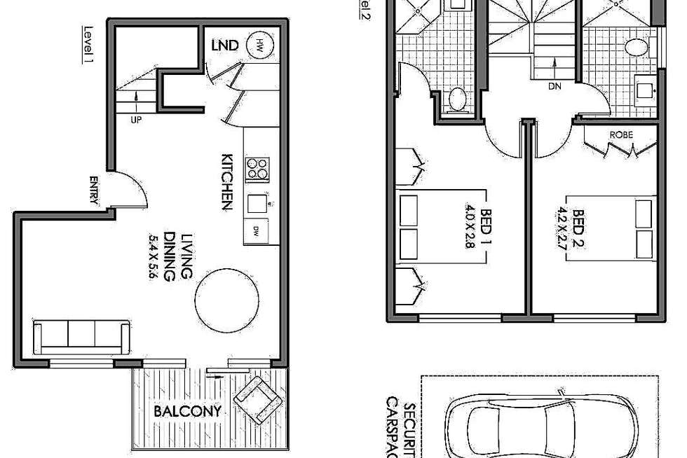 Floorplan of Homely apartment listing, 24/2 Goodlet Street, Surry Hills NSW 2010