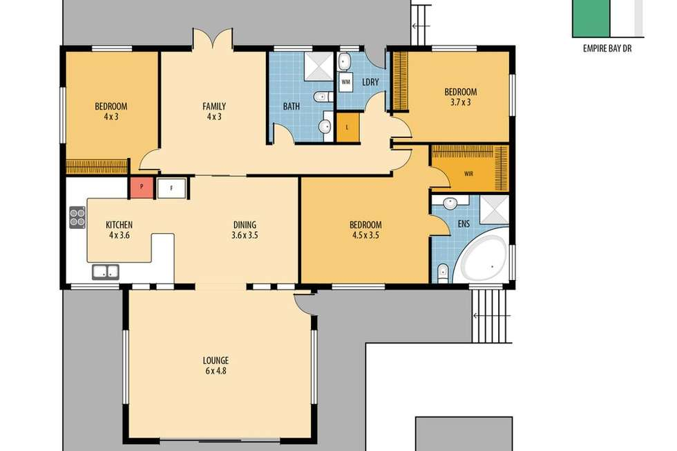 Floorplan of Homely acreageSemiRural listing, 156 Empire Bay Drive,, Empire Bay NSW 2257