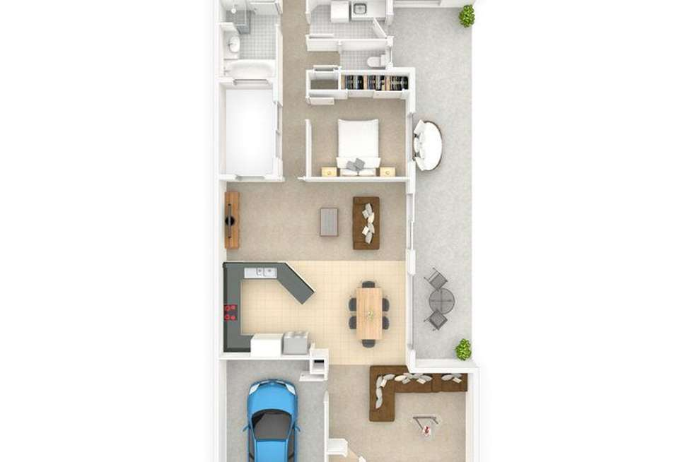 Floorplan of Homely house listing, 41 Galing Place, Wagga Wagga NSW 2650