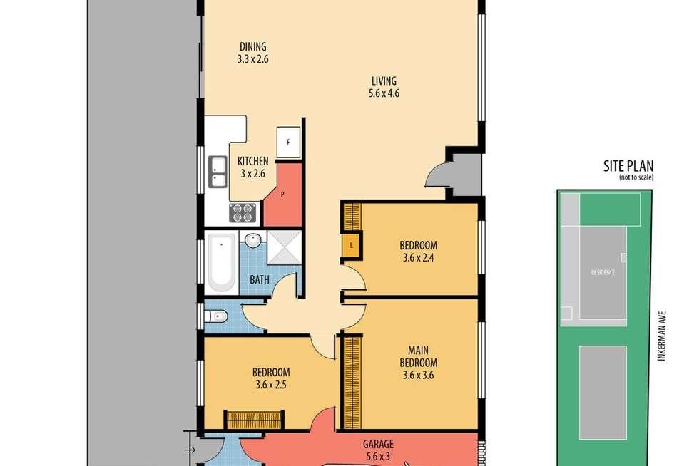 Floorplan of Homely villa listing, 2/65 Commonwealth Avenue, Blackwall NSW 2256