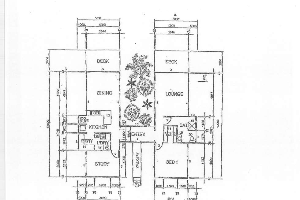 Floorplan of Homely house listing, 1 Giufre Crescent, Wongaling Beach QLD 4852