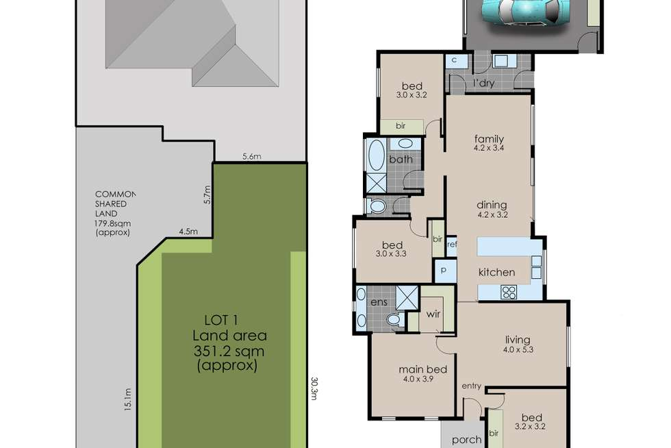 Floorplan of Homely residentialLand listing, 87 Baxter-Tooradin Road, Baxter VIC 3911