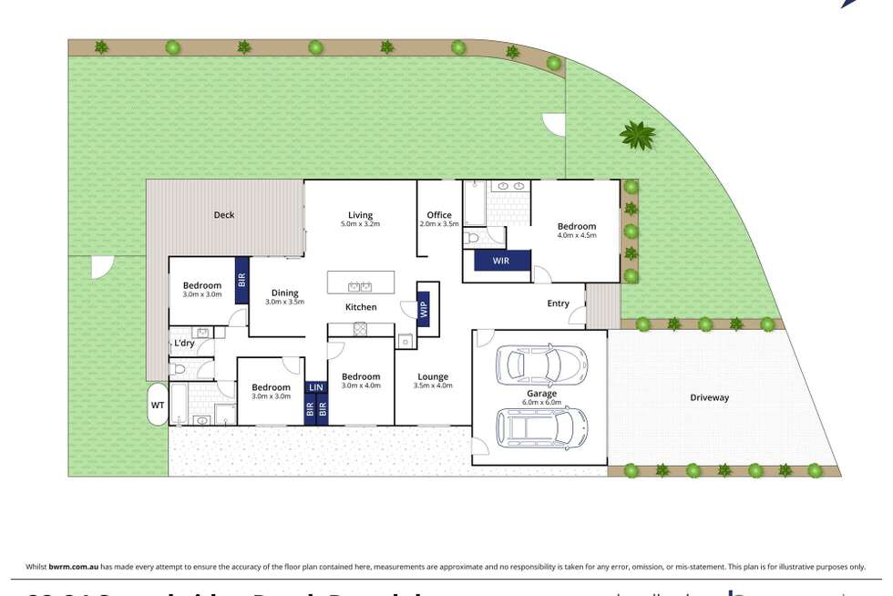 Floorplan of Homely house listing, 22-24 Stonebridge Road, Drysdale VIC 3222