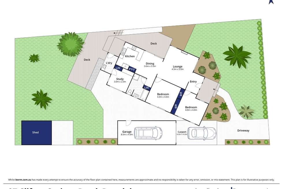 Floorplan of Homely house listing, 97 Clifton Springs Road, Drysdale VIC 3222
