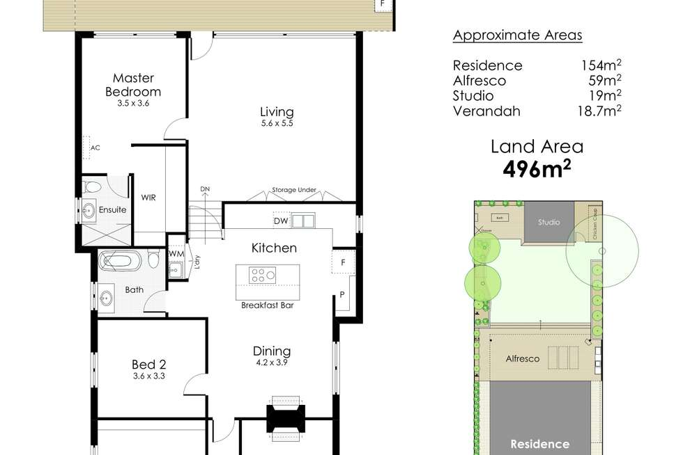 Floorplan of Homely house listing, 6 Smyth Road, Shenton Park WA 6008