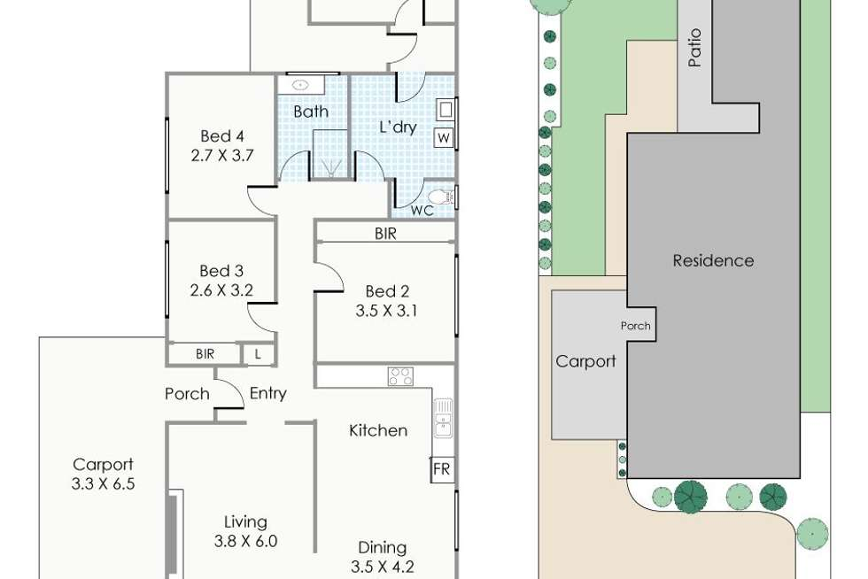 Floorplan of Homely house listing, 78 Derby Road, Shenton Park WA 6008
