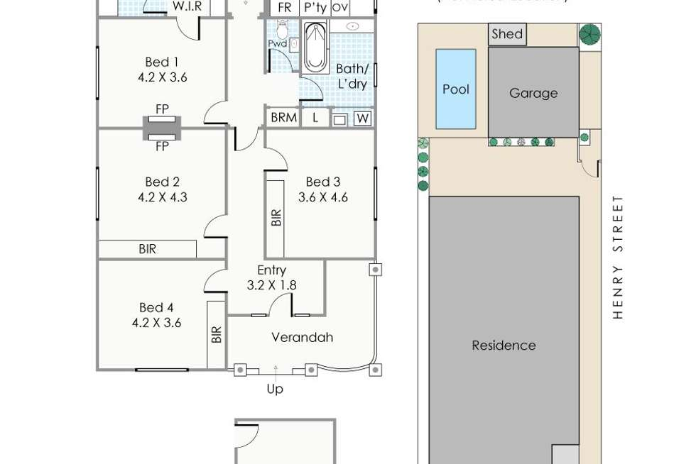 Floorplan of Homely house listing, 131 Nicholson Road, Shenton Park WA 6008