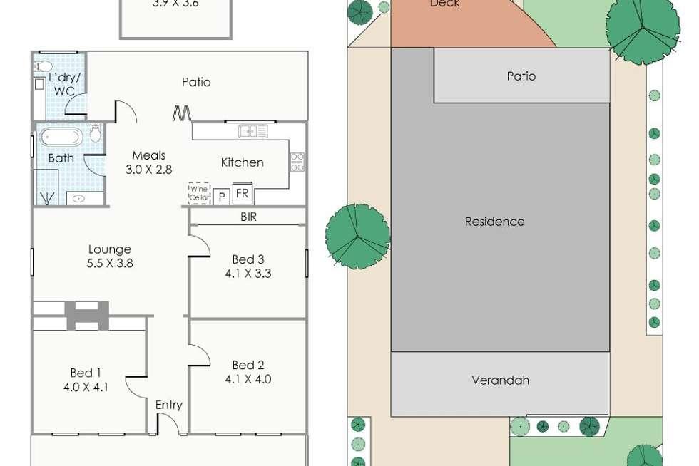 Floorplan of Homely house listing, 57 Nicholson Road, Shenton Park WA 6008