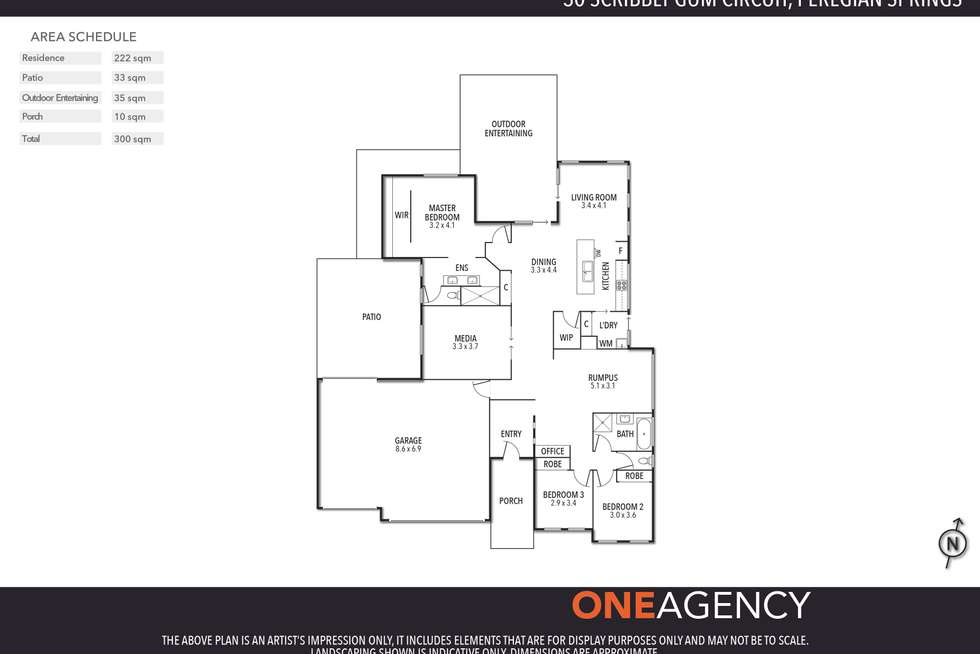 Floorplan of Homely house listing, 30 Scribbly Gum Circuit, Peregian Springs QLD 4573