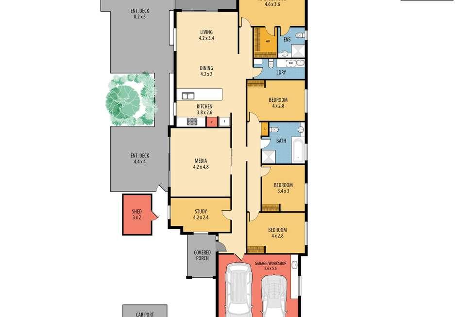 Floorplan of Homely house listing, 4 Springwood Street, Blackwall NSW 2256