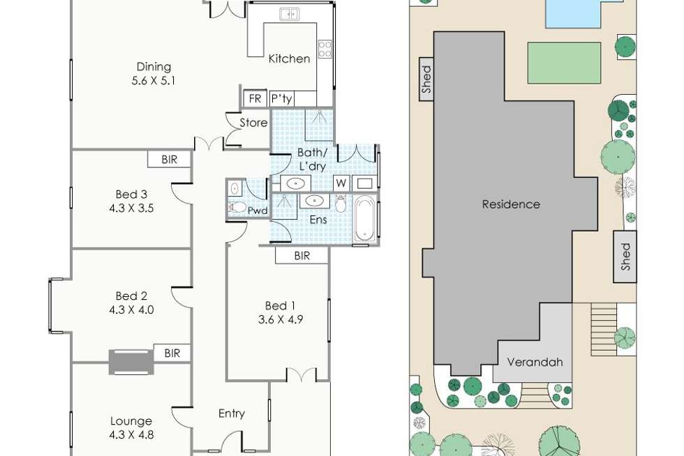 Floorplan of Homely house listing, 28 Arthur Street, Shenton Park WA 6008