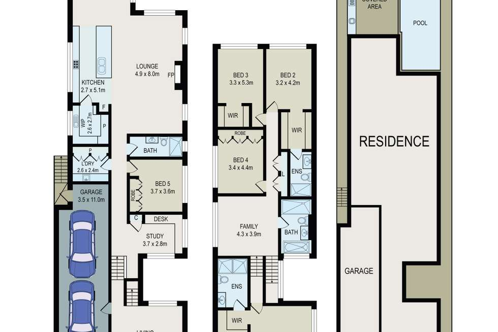Floorplan of Homely house listing, 99 Connells Point Road, South Hurstville NSW 2221