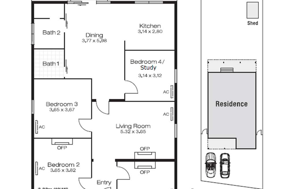 Floorplan of Homely house listing, 188 Railway Parade, West Leederville WA 6007